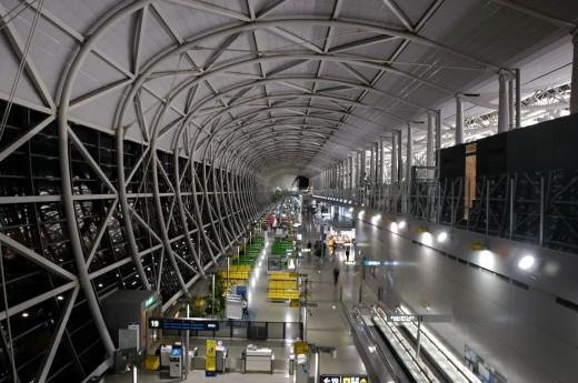 Departure lounge Kansai Airport