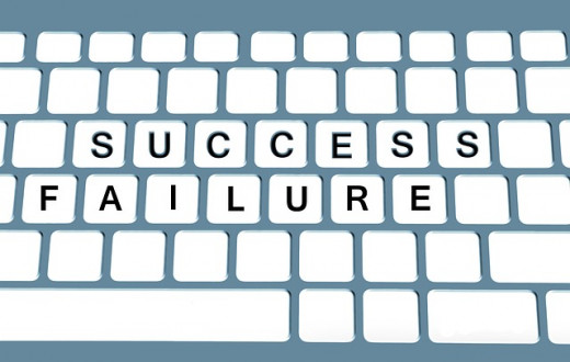 Does success depend on failure?