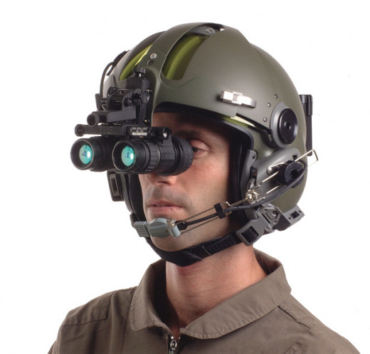 The type of night vision devices used on the battle field.