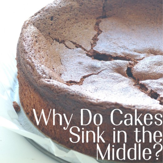 If your cakes sink in the middle, it doesn't mean that you can't bake. Follow these tips.