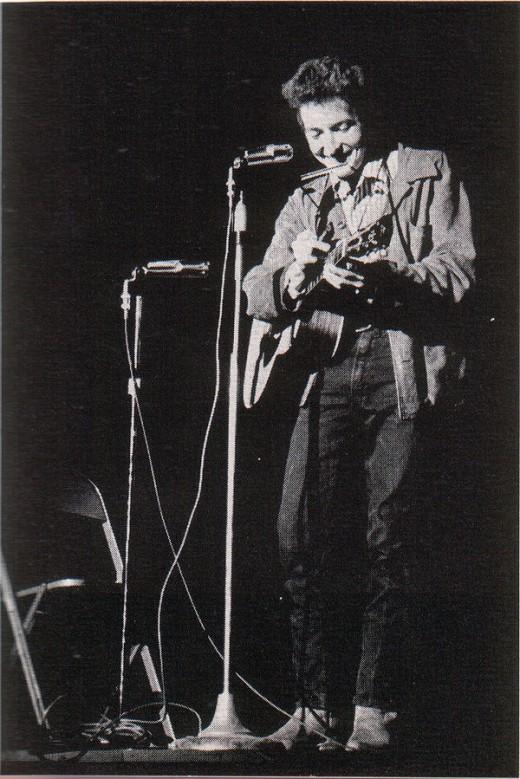 Bob Dylan in New York, 1963