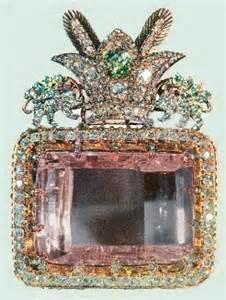 Darya-I-Nur diamond from Golconda mine, Hyderabad, India