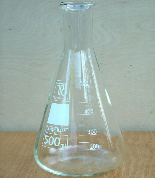 Conical Flask Uses Erlenmeyer Flasks Aka Conical