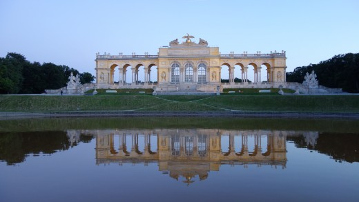 The Gloriette at Schönbrunn Palace in Vienna, Austria