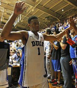Jabari Parker as a Duke college player