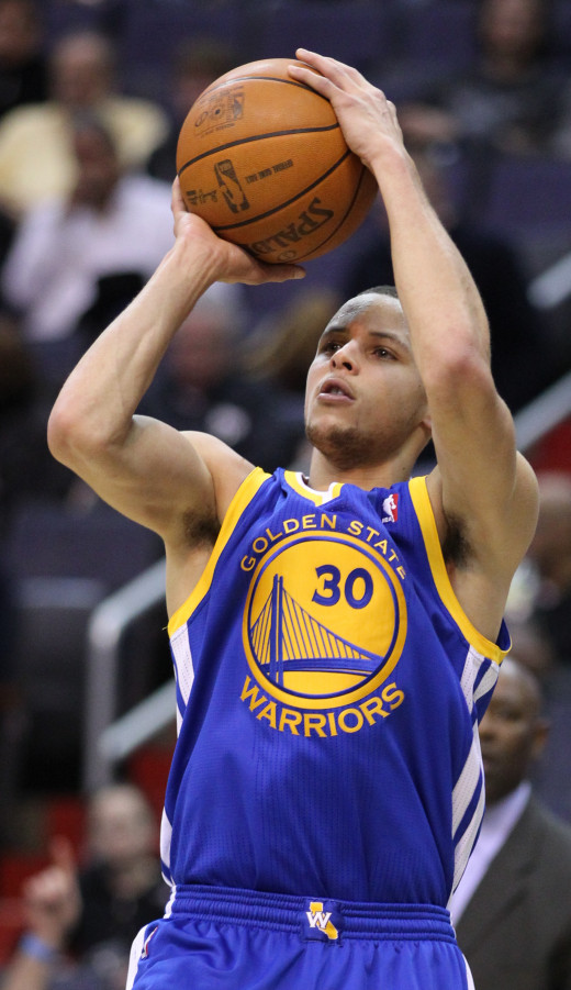 Steph Curry and the defending NBA Champion Golden State Warriors