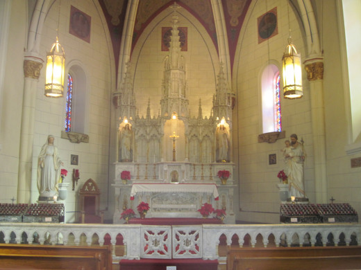 Alter at the Loretto Chapel
