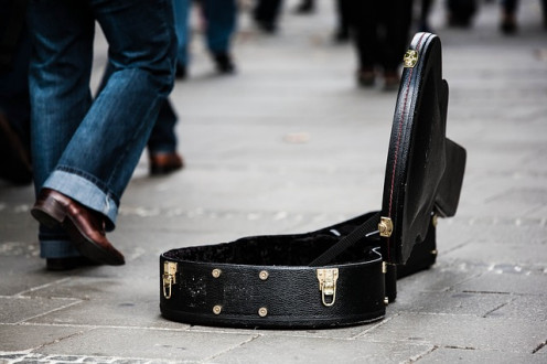 Don't let this be you. No one wants to live out of a guitar case.