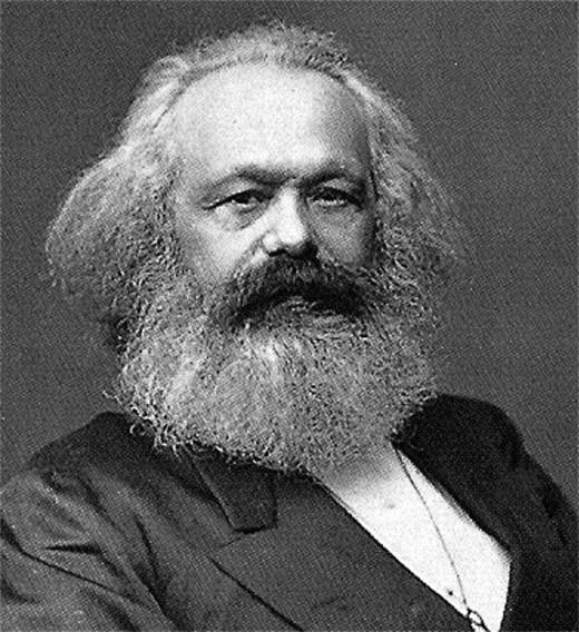 "Karl Marx: Political-economist, theorist of capitalism; author of Das Kapital (""Capital""). 1818-1883"