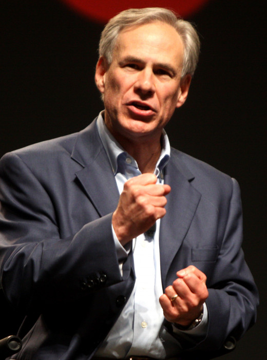 Texas Governor Greg Abbot