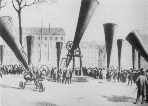 European Hail Cannons of 1901