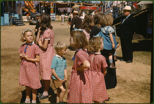 A photo from the Vermont State Fair in 1941. Fairs were another subtle entering of progress to our country.