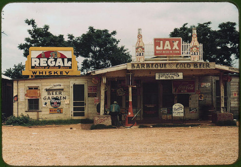 Juke Joint, 1941, Melrose, Louisiana.