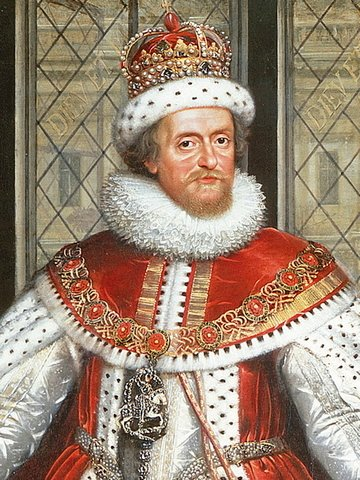 King James I of England and VI of Scotland.  A fervent demonologist