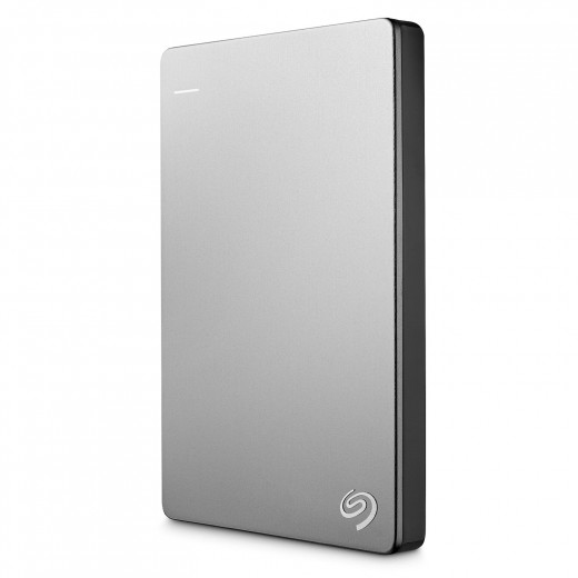 The Seagate Backup Plus Slim 1TB Portable External Hard Drive has been designed with a Mac specifically in mind.  USB 3.0 technology gives you quick and efficient connectivity.  As well as the 1 TB version, there are also 500 GB and 2 TB versions.