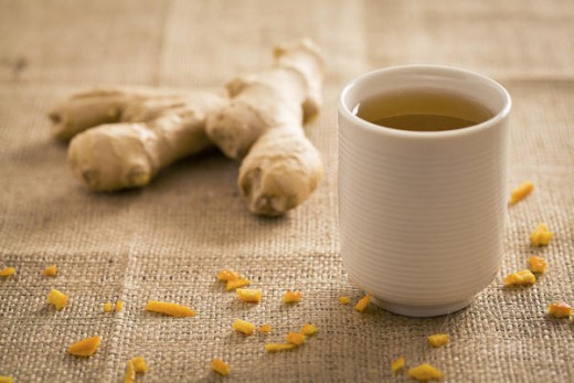 If you have ginger tea instead of ginger ale why not give that a try it will work the same way