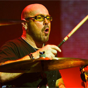 Jason Bonham replaced his father John on drums and did the job well