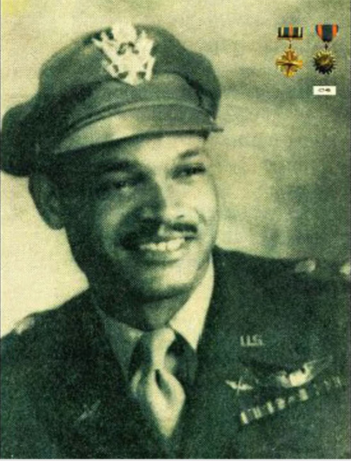 Lt. Col. Luke J. Weathers, Jr. was an American WWII fighter pilot who lived in Memphis, Tennessee.  He served as one of the legendary Tuskegee Airmen during WWII.