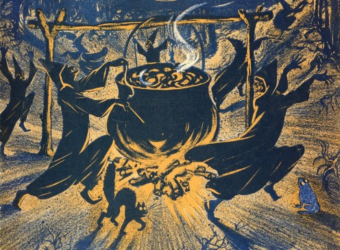 A Witch and Her Poisons: A Look at the Toxic Herbs Used by Witches in Past Centuries