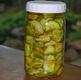 Sweet Refrigerator Pickles