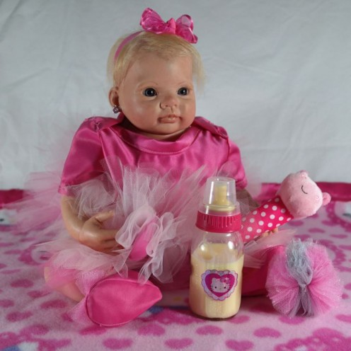 Reborn Doll Maddie Mae from Little Munchkins Nursery.
