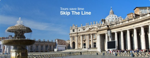 It's true when being on a guided tour that lines are shorter or skipped altogether.  Travelers  spend much less time waiting in lines when on guided tours.