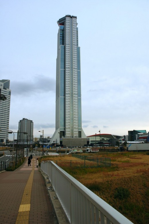 The Osaka World Trade Center Cosmo Tower
