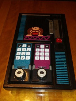 Vintage Video Game Console Art