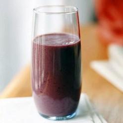 Blackberry-Mango Breakfast Shake