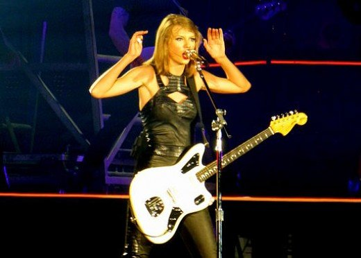 Taylor Swift's 1989 Tour in Ford Field, Detroit on 5/30/15