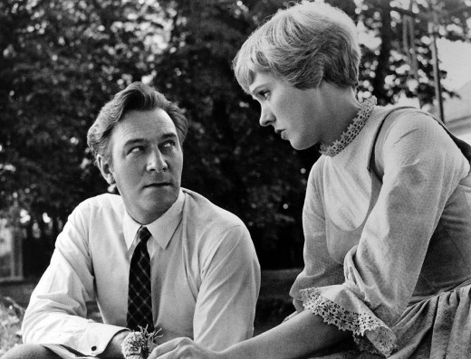 Christopher Plummer and Julie Andrews in 1964
