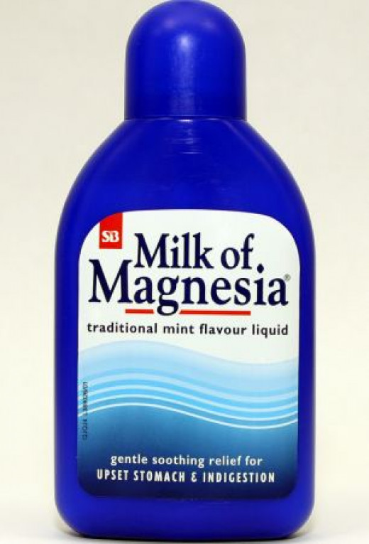 Use Milk of Magnesia if you have oily skin