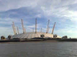 The O2 Arena formerly know as The Millennium Dome