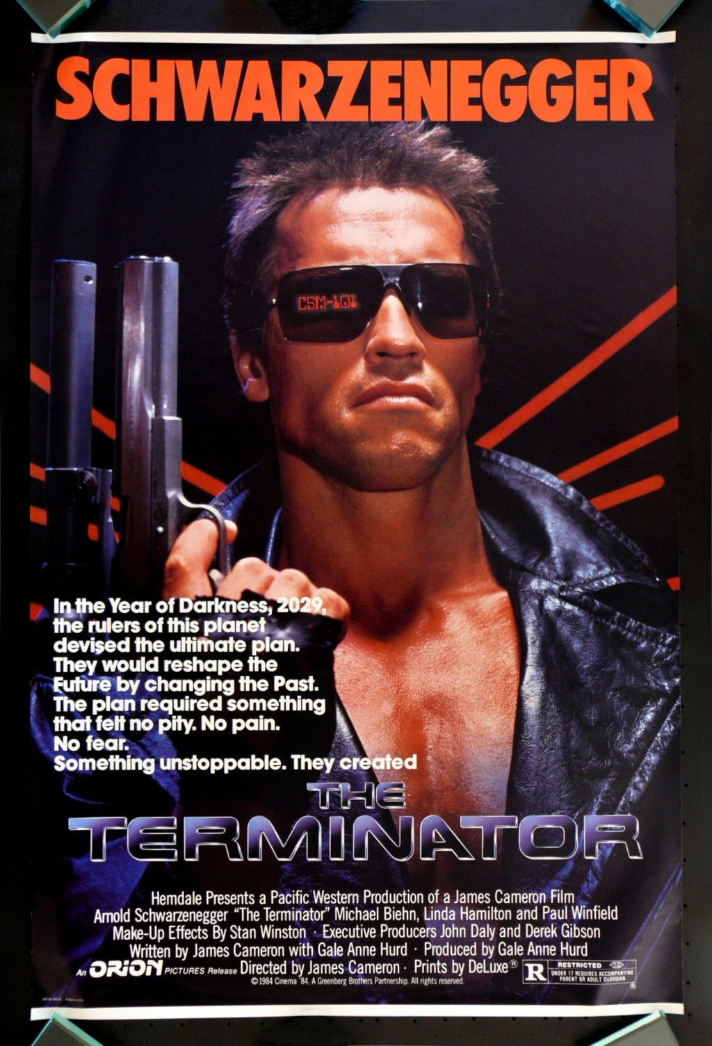 a review of the movie the terminator Terminator 3: rise of the machines movie reviews & metacritic score: the highly anticipated third installment in one of hollywood's most innovative and celeb.
