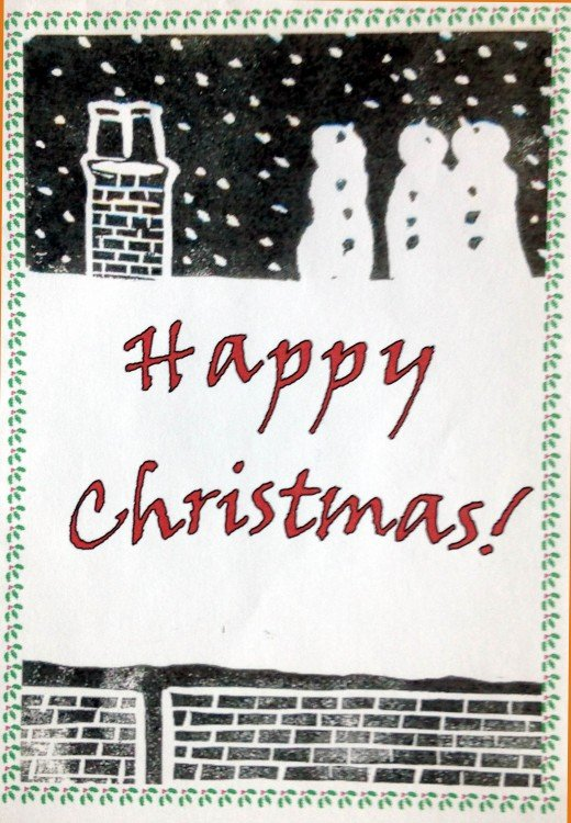 Christmas Card by Colin Garrow