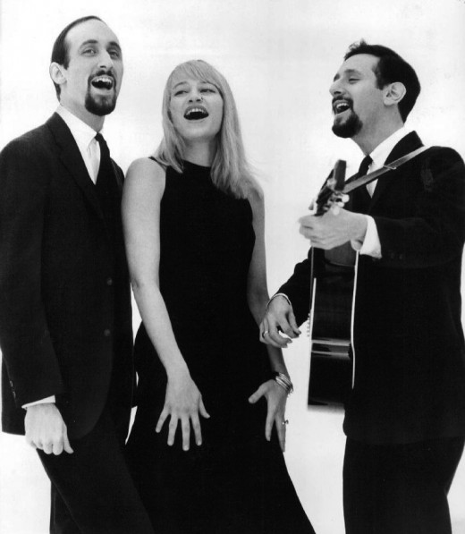 Paul Stookey, Mary Travers and Peter Yarrow
