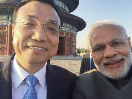 PM Modi Takes Selfie with Chinese Premier Li Keqiang