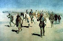 Coronado sets out to the North by Frederic Remington