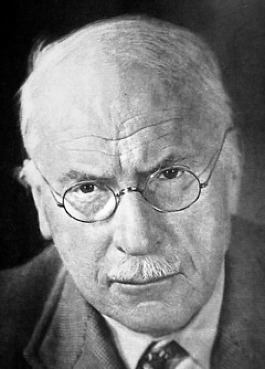 Dr. Jung in his later years long after his split with Freud over the importance of spirit in understanding human psychology.