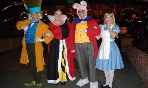 At Magic Kingdom in 2014