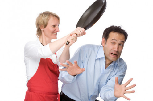 Always complaining about her cooking.