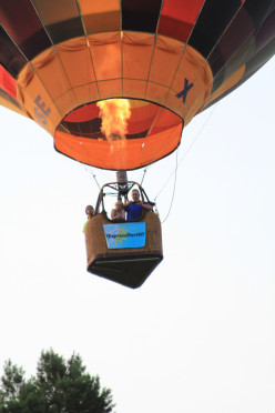The Heart-Pounding High Flying Hot Air Balloon Thrill Ride, Seeing The World