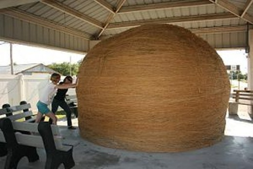 Giant Ball of Twine in Cawker City