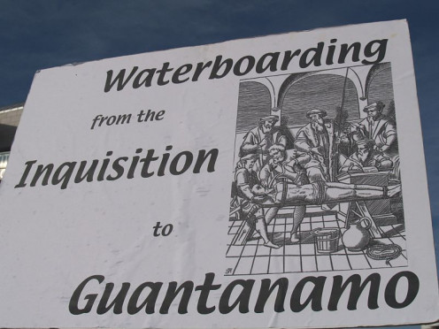 Apparently,. waterboarding is much older than I thought it to be - 100s of years older.