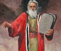 Moses, the Hebrews savior, who lead them to the promise land.