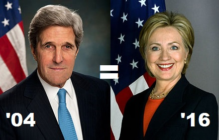 If Bernie Sanders is the new Howard Dean, is Hillary Clinton the new John Kerry?
