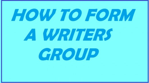 Forming a local writers group