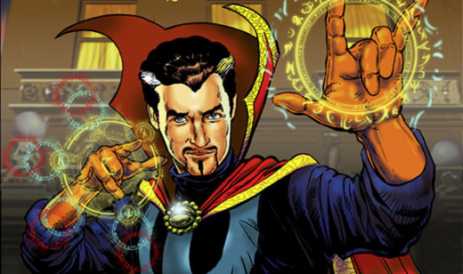 Superman is vulnerable to the Magic of Dr Strange