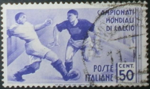 1934 World Cup Stamp