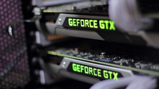 Joker's review shows 4k vs 1440p gaming for the 980 and 980 TI in SLI.